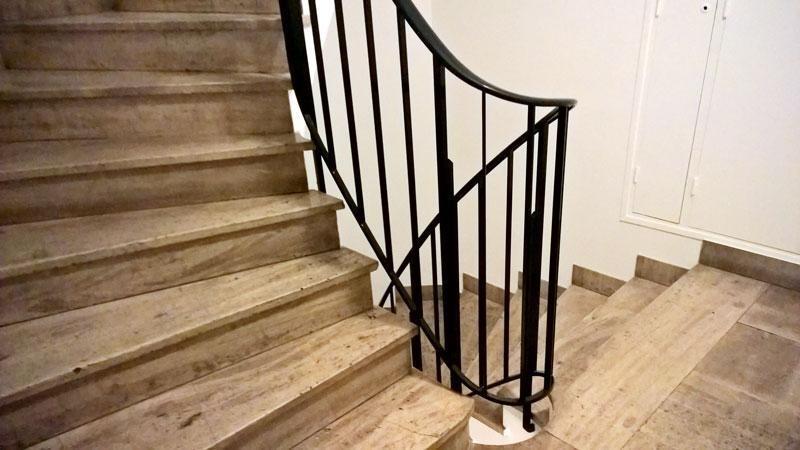 Peinture cage d 39 escalier bd jean jaures boulogne billancourt for Cage escalier exterieur