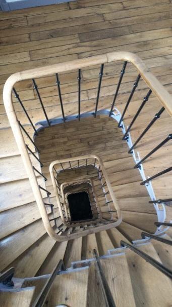 R f ction de la cage d 39 escalier puteaux for Cage escalier exterieur